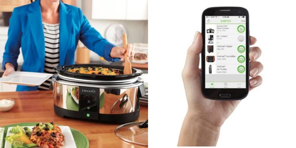Crock-Pot WeMo slow cooker