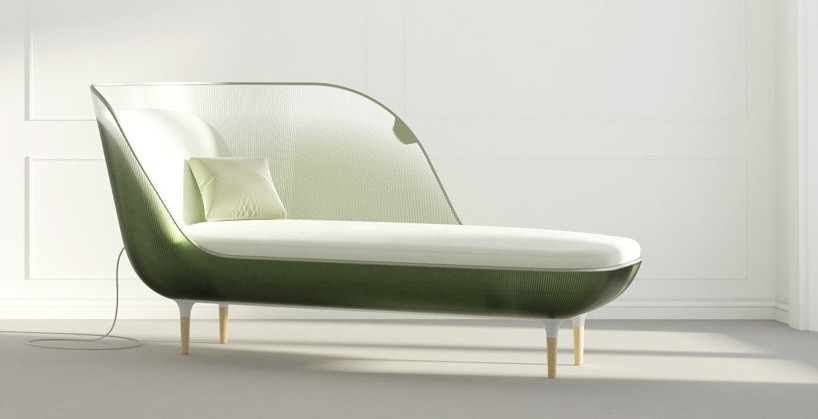 Seymourpowell chaise lounge air conditioner