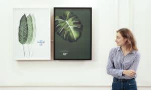 Sauberair FLAT painting air purifier