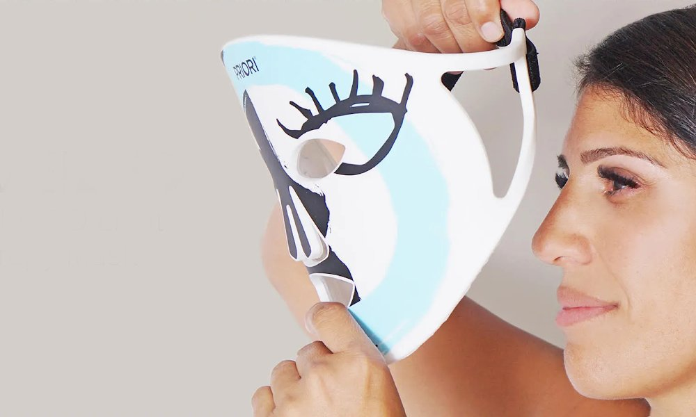 Priori Unveiled led-therapy mask