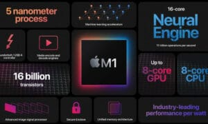 Apple M1 SoC chip