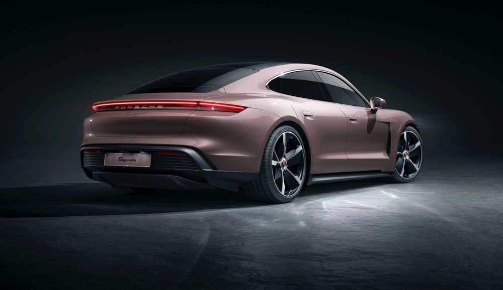 entry-level Porsche Taycan