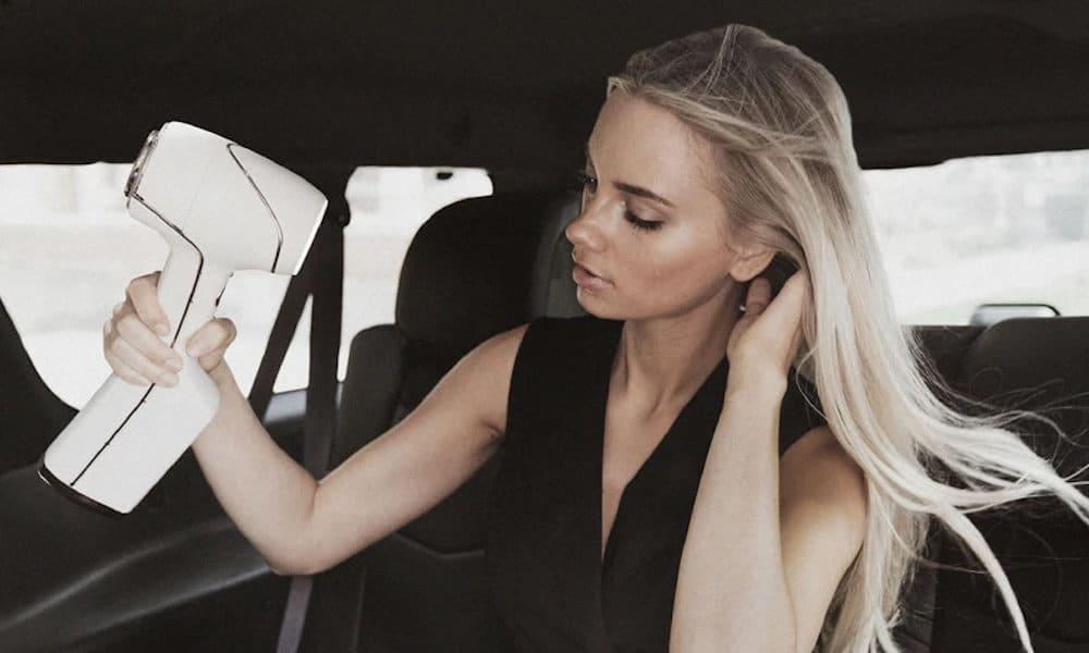 AER cordless smart hair dryer