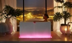 Kohler smart bathtub voice activated