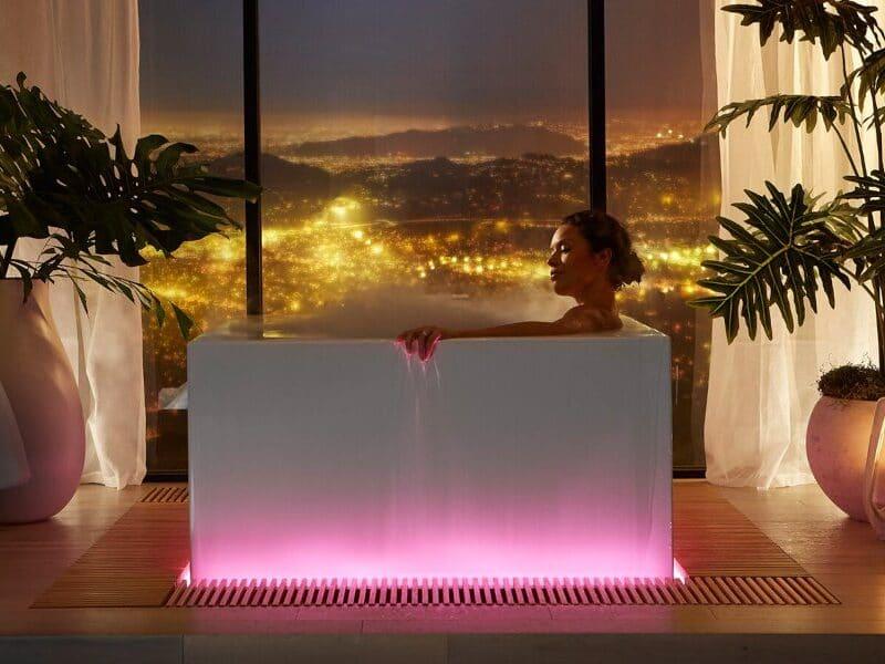 Kohler smart bathtub voice activated