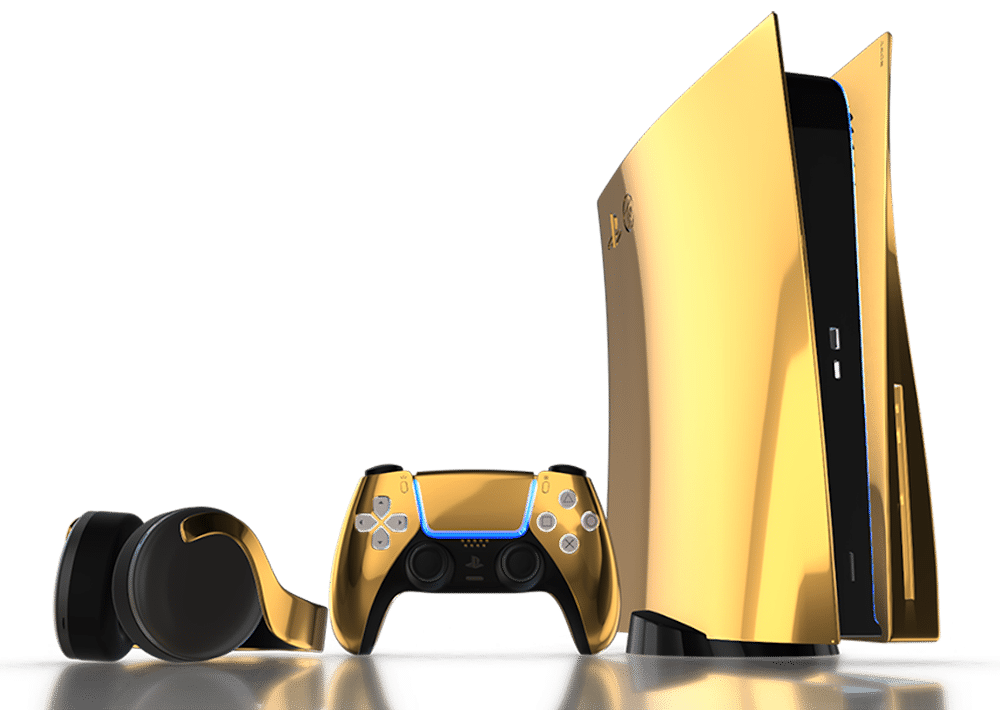 Play Station 5 Truly Exquisite gold