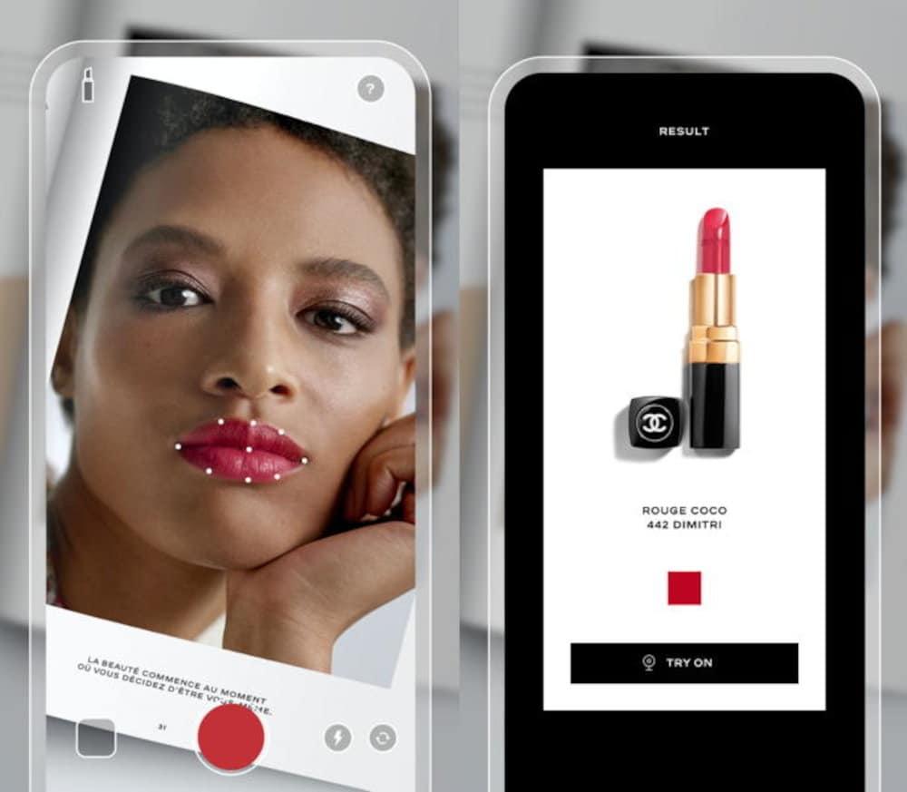 Chanel virtual lipstick app