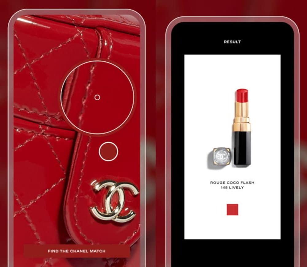 Chanel lipstick scanner