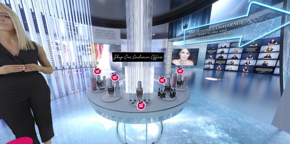 Lancôme virtual flagship store Australia