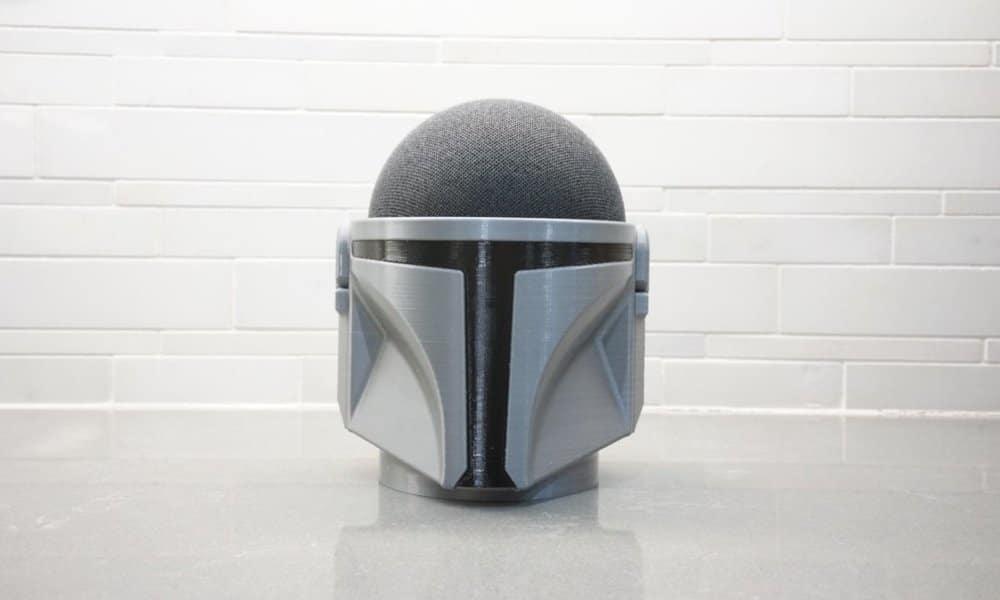 Mandelorian Echo Dot holder