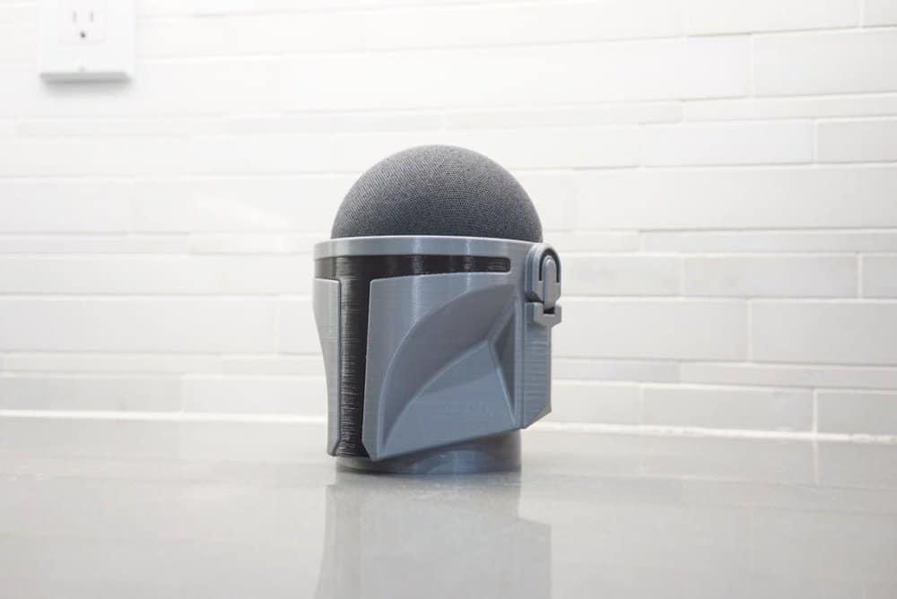 Mandelorian stand Echo Dot Amazon
