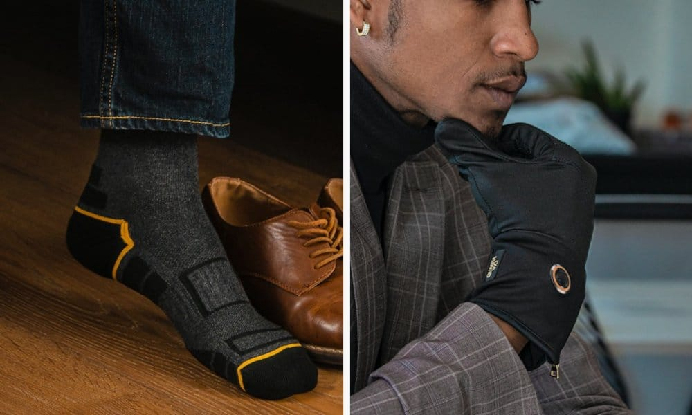 Quanta Vici smart heated socks and gloves
