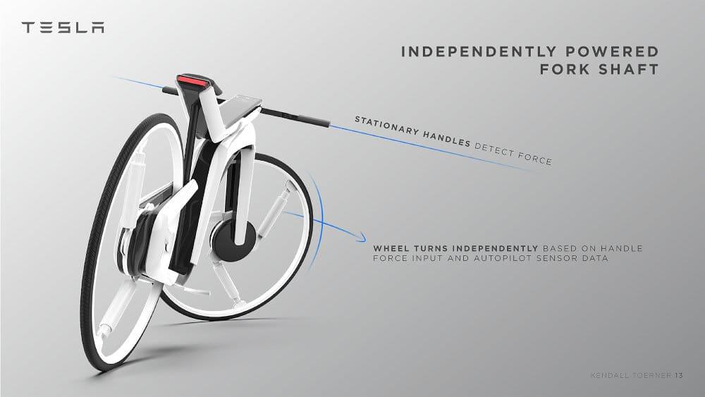 Tesla Model B electric bike