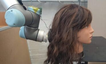 MIT RoboWig hair brushing robot
