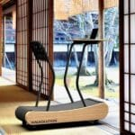 This treadmill takes standing desks a step further