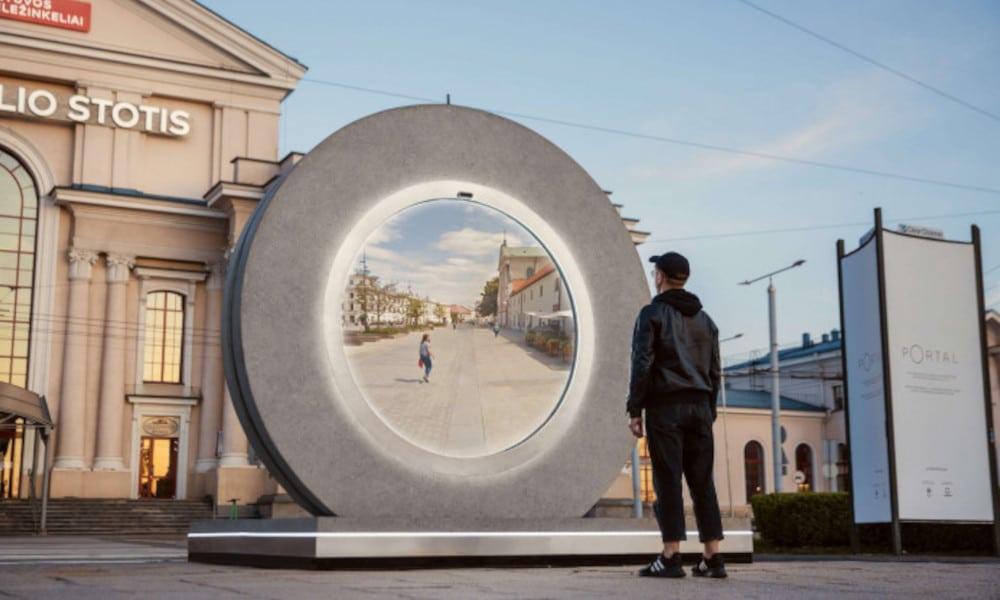 portal in Vilnius Lithuania